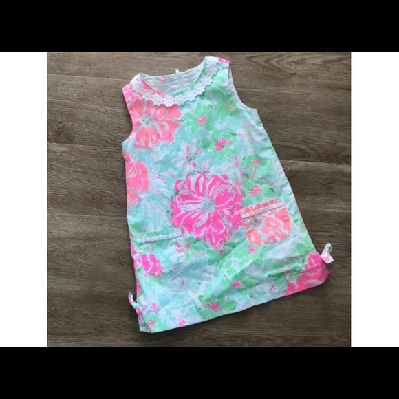 adca8f39e Lilly Pulitzer Other - Lilly Pulitzer Little Lily Classic Shift Dress